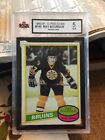 1980-81 OPC #140 Ray Bourque Rookie Card Boston Bruins