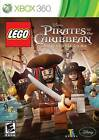 Lego Pirates of the Caribbean Jack Sparrow treasure XBOX 360 NEW