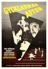 Ingmar Bergman GYCKLARNAS AFTON SAWDUST AND TINSEL 1953 Swedish one sheet