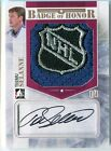 Teemu Selanne 2014 ITG Badge of Honor AUTOGRAPH NHL Shield Logo Patch Card 1 1