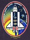 LMH STICKER Badge NASA STS 85 SPACE SHUTTLE Discovery 1997 Mission Crew Insignia