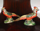 2 Beautiful Vintage Kelvin's Colorful Figurine Birds.Japan (No Chips)