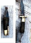 Vintage Antique Primitive Civil War Era Rare Folding Bowie Knife by Sheffield