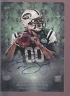 2013 Topps Inception Autograph Auto #110 Geno Smith RC WVU New York Jets NYJ
