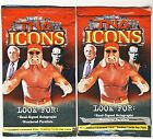 2010 TriStar TNA Icons Wrestling 300-Pack Lot