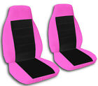 2 Captain Chair Seat Covers 2 Armrest Covers Ford F-150 F-250 F-350 Choose Color