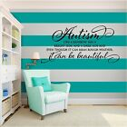 New AUTISM Inspirational Vinyl Wall Art quote Family Home Decal Decor