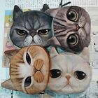 Children Cute Cat Face Zipper Case Coin Kids Purse Wallet Makeup Bag Pouch