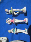 3 BALLERINA FIGURINES 444 MADE IN JAPAN YOUNG GIRL