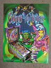 Original Bally Cirqus Voltaire Pinball Advertising Flyer