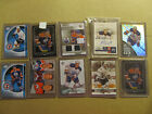 Lot of 8 Ryan Nugent-Hopkins RCs: Including Auto and Worn-memorabilia card