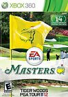 Tiger Woods PGA Tour 12: The Masters  (Xbox 360, 2011)