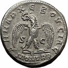 Philip I the Arab 244AD Big Rare Silver Ancient Roman Coin Eagle i41813