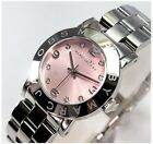 NEW MARC BY MARC JACOBS WOMEN'S AMY STAINLESS STEEL BRACELET WATCH MBM3300