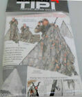 BOGgear EASY SETUP CAMO HUNTING BLIND TIPI TRIPOD BIPOD COVER SNOW CAMO BLIND