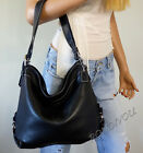 NWT COACH BLACK LEATHER HOBO SHOULDER CROSSBODY TOTE BAG PURSE HARD 2 FIND STYLE