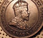 OLD CANADIAN COINS RARE 1902 CANADA LARGE CENT GEM FOR COLLECTION