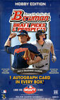 2013 BOWMAN DRAFT PICKS & PROSPECTS BASEBALL HOBBY BOX (1 CHROME AUTO BOX)