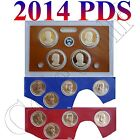 2014 BU PDS Presidential Dollars (12 Coins) from Annual Sets in OGP