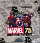 Marvel 75th Anniversary Trading Card Hobby Box MINT Rittenhouse Archives