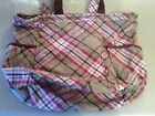 Thirty-One Retro Metro Bag 353C Painted Floral Plaid New In Package (Retired)