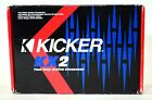 KICKER KX2 2 Way Car Crossover Active Electronic Low/High Pass Filter