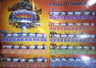 Skylanders Giants Eye-Brawl Hot Dog Ninjini Hot Head Thumpback Jet Vac Poster