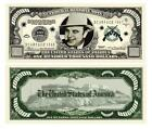 Al Capone Scarface Novelty $100,000 Dollar Bill Mobster Alcatraz Gangster