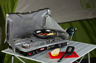 NEW Coleman Gas Cooker Camp Stove, Camping Large Steel 2 Propane Burner 22K BTU