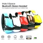 X-Space Wireless Headset: Stereo/HiFi/Noise Cancel/Fold Convert-able/12HOUR play