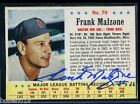 Frank Malzone signed autographed Auto 1963 Post card #79