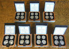 ROYAL CANADIAN MINT 1976 OLYMPICS SILVER PROOF COINS - COMPLETE SERIES OF 7 SETS