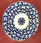 Excellent Chamberlains Worcester Plate c. 1850 Cobalt on White