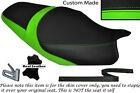 LIGHT GREEN & BLACK CUSTOM FITS KAWASAKI ZZR 1400 ZX14R 12-14 DUAL SEAT COVER