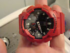 G-SHOCK GA-100B 5081 MEN'S WATCH RED Made By Casio - Without Box