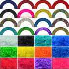 7200ps Rainbow Rubber Bands Refills Bracelet Making Loom Bands Kits, 288 S Clips