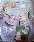 Daisy Kingdom KITTY ANGEL GARLAND Fabric Panel stitch'n stuff sewing craft pack