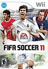 Nintendo Wii FIFA Soccer 11 includes booklet, CD, and case