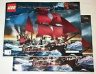 Lego 4195 INSTRUCTION BOOKS: Pirate Ship Queen Anne (BOOKS ONLY, NO LEGO)