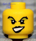 NEW Lego Female MINIFIG HEAD Green Eye Shadow Girl Witch Evil Pirate Queen Wench
