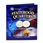 WHITMAN OFFICIAL Statehood & DC & U.S. Territory Quarters 1999-2009 Album #8097