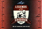 2013 Leaf Legends of the Gridiron Football Hobby Box FACTORY SEALED!!