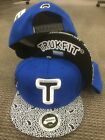 TRUKFIT HAT CAP Snap snapback Mob to the end ROYAL blue  Lil wayne Truk Fit NEW