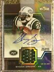 Shonn Greene 2011 TOPPS TRIPLE THREADS Jets Titans JERSEY Auto Autograph 12 75