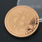 Bitcoin BTC Coin Physical Red Copper Dia.40 MM 1oz Beautifully Crafts Collection