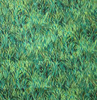 Vintage Screen Printed NatureFabric Field Grasses Hoffman 44