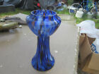 SPATTER END OF DAY CZECHOSLOVAKIA VASE 9.25
