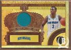 2010-11 Panini Gold Standard Gold Crowns Materials #8 Chris Paul 249 Jersey