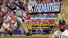2014 TOPPS STADIUM CLUB BASEBALL HOBBY BOX(FACTORY SEALED)