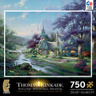 BNIB THOMAS KINKADE Clocktower Cottage 750pc METALLIC SPECIAL EDITION jigsaw